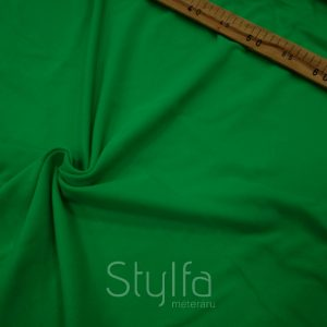Zöld elasztikus pamut rugalmas